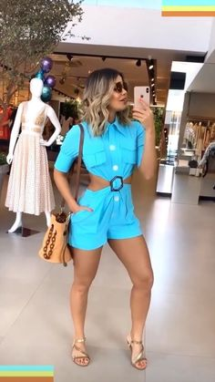 Casual Looks, Short Dresses, Jumpsuit, Rompers, Shorts, Women, Style, Taking Pictures, Fashion Clothes