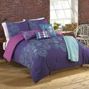 Roxy Caroline Complete Comforter Set - Bed, Bath, Beyond ($99; -30 than Macy's); could go magenta and tourquoise