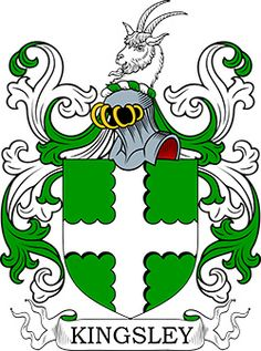 Kingsley Coat of Arms