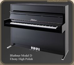 Bluthner D Upright Piano
