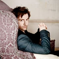 The next person who tells me David Tennant isn't attractive (yes, they do exist, and yes, every time they say that I want to make them watch Doctor Who until their eyeballs bleed and they can quote every line) will have this picture shoved in their face.