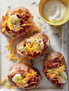 BBQ Beef-Stuffed Potatoes     MyRecipes