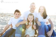 family photography in san diego at the beach