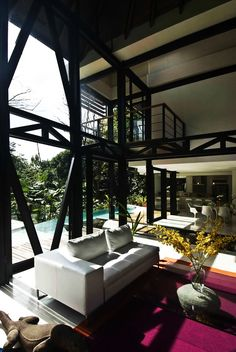 Amazing Modern House with Large Windows and Glass Walls, Costa Rica | http://www.designrulz.com/architecture/2012/11/sustainable-modern-mc1-house-in-costa-rica/