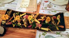 [I ate] Walk around the Garden vegetable platter at Flora Farms Cabo farm-to-table restaurant Food Recipes