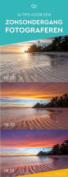 Fotografie tip: als de zon onder is, stop dan niet meteen met fotograferen, maar blijf nog even langer. De mooiste foto's van zonsondergangen maak je namelijk juist als de zon echt achter de horizon is verdwenen. #landschapsfotografie #reisfotografie
