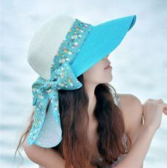 Floral bow straw hats for summer package ladies sun hats UV protection ddba11a67bd4