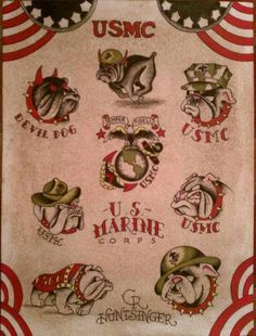 usmc USMC Flash Sheet « Taylor County Tattoo - Tattoos and Body Piercings . Marine Corps Tattoos, Marine Tattoo, Once A Marine, Marine Mom, Body Art Tattoos, Sleeve Tattoos, Tatoos, Tattoo Drawings, Military Tattoos
