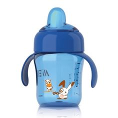 Phillips Avent Spout Cup 12 Months Plus Blue - for Baby and Toddlers, Nursery Furniture, Baby Clothes, Pushchairs and Prams.