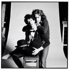 Lou Reed & Mick Rock
