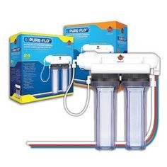 Coralife (Energy Savers) Pure Flo II 50gpd Reverse Osmosis Unit - ON SALE! http://www.saltwaterfish.com/product-coralife-energy-savers-pure-flo-ii-50gpd-reverse-osmosis-unit
