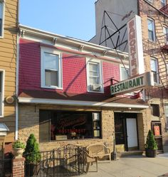 Bamonte's restaurant. Williamsburg. this Italian restaurant has been essentially unchanged since opening in 1900