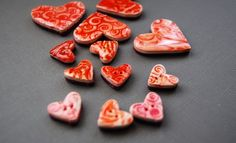 How-To: Make Impression-Glazed Faux Ceramic Polymer Clay Buttons