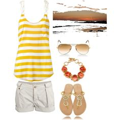 An outfit to watch the sunsets in mexico! Just were I want to be! #cheapcaribbean #cheapcaribbean.com