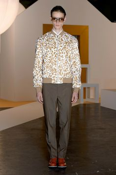 Jonathan Saunders Spring-Summer 2015 Men's Collection