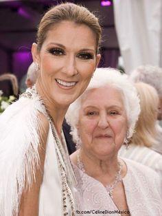 Céline Dion et Sa maman ☝️