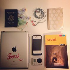 My trip to Israel, travel essentials