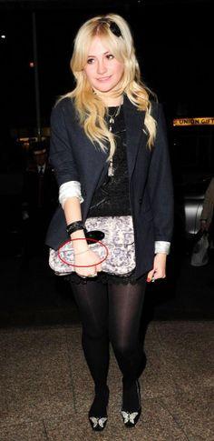 Pixie Lott wearing Chlobo Cheryl Cole, Rock Chic, Beautiful Legs, Pixie, Punk, Celebrities, How To Wear, Shopping, Black
