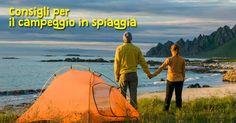 Camping on the beach - Consigli per scegliere l'attrezzatura per il campeggio in spiaggia