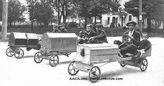 Early Pushmobiles and The Little Tramp in Kid Auto Races at Venice