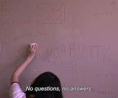 ..... no answers