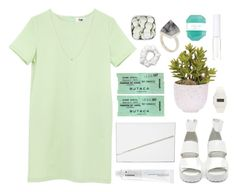 """""""Untitled #1820"""" by katerina-rampota ❤ liked on Polyvore featuring American Apparel, Lux-Art Silks, ASOS, Korres, Kelly Wearstler, BCBGMAXAZRIA, Lord & Berry, Nasty Gal and Freestyle Shark"""