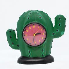 mantelpiece clock 'Cactus', Gager, Germany, 1980s | zegar kominkowy 'kaktus' Gager, Niemcy lata 80. | buy on Patyna.pl | #forsale #vintage #vintagefinds #vintageshop #vintagelove #retro #old #design #home #midcenturymodern #want #amazing #home #inspiration #kitchen #decoration #furniture #ceramics #glass #cacti #cactus #clock #fun #child #gager #german #80s #1980s Vintage Love, Vintage Shops, Home Decor Accessories, Decorative Accessories, Late 20th Century, Electronics Gadgets, Midcentury Modern, Pop Art, Germany