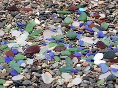 how to clean sea glass