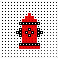 KleuterDigitaal - wb kralenplank brandkraan