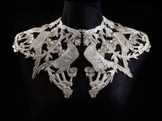 Rene Lalique - Collar with roosters