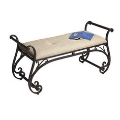 Found it at Wayfair - Metalworks Metal Bench Más