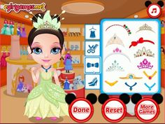 Disney Princess || Marketing ,Make over,Dressing || HD Online Game Play ...
