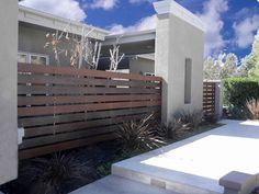 horizontal  hardwood fence Lotus, Fence, Hardwood, Garage Doors, Outdoor Decor, Design, Home Decor, Homemade Home Decor, Lotus Flower