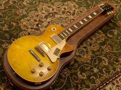 "Gibson Custom Shop Historic Collection 1958 Les Paul Reissue Light Figured 2014 ""Real Top""VOS Buck Burst(#841205)"