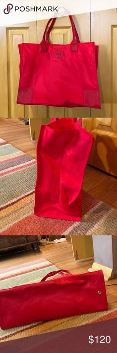 NWOT Tory burch packable tote NWOT red Tory burch packable tote  super cute Tory Burch Bags Totes