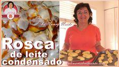 Rosca de leite condensado com calda fondant | Sweet bread Nancy Neide