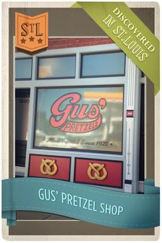 Head south down highway 55 to Gus' Pretzels, located in Benton Park. Gus' has been around since 1920, and is family owned and operated now in its third generation! St. Louis natives recognize Gus' pretzels as vendors often sell them at busy intersections, but if you want them hot and fresh, be sure to visit Gus' Pretzels bakery and storefront in St. Louis.