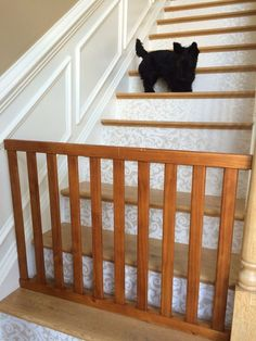 My neighbors put their child's crib out for the garbage and it gave me a great idea. For years we've been using those ugly gates to keep curious toddlers and pe…