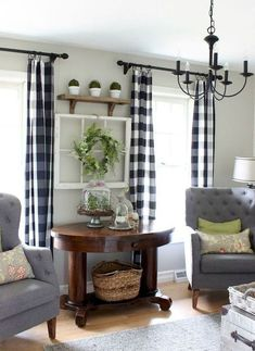 Stunning rustic farmhouse living room design ideas (11)