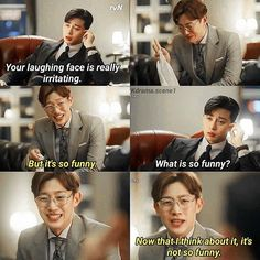 What's Wrong With Secretary Kim? Korean Dramas, Korean Actors, Kim Meme, Actor Quotes, Korean Drama Quotes, Laughing Face, W Two Worlds, Weightlifting Fairy Kim Bok Joo, Kdrama Memes