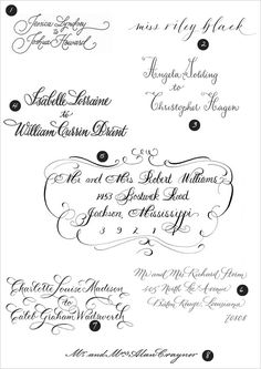 How to fake calligraphy (for everyday use... not weddings and such - pay for the pros then!)