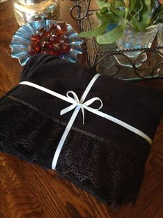 Black flannel pillowcases