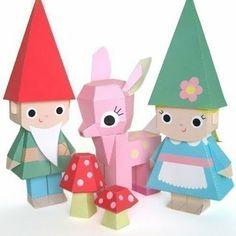 meu blog: Paper toys