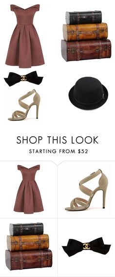 """""""vintage things back in the old days"""" by lillie-schild on Polyvore featuring Chi Chi, Chanel and vintage"""