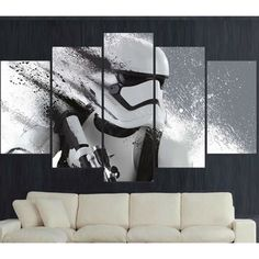 STORMTROOPER 5 PIECE CANVAS LIMITED EDITION Oneshopexpress.com