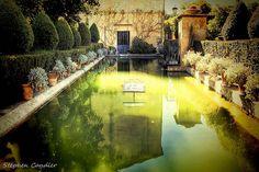 Water Feature In The Gardens by Light+Shade [spcandler.zenfolio.com], via Flickr