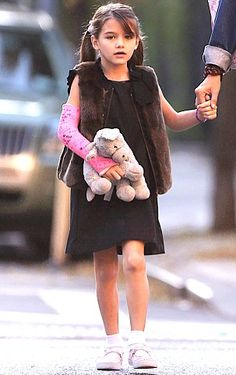 MINI ME - hmm, about that mink I am not so sure, but it does look ubercute! - Suri Cruise Fashion Blog