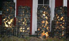 Ekikori kivikori valopylväät