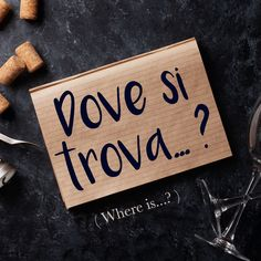 Frase della settimana / Italian phrase of the week: Dove si trova. To find out more about this phrase and hear the pronunciation, visit our full article.