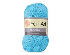 BEGONIA Yarn from YarnArt - 100% Mercerized cotton. FREE Shipping! NEW Colors!